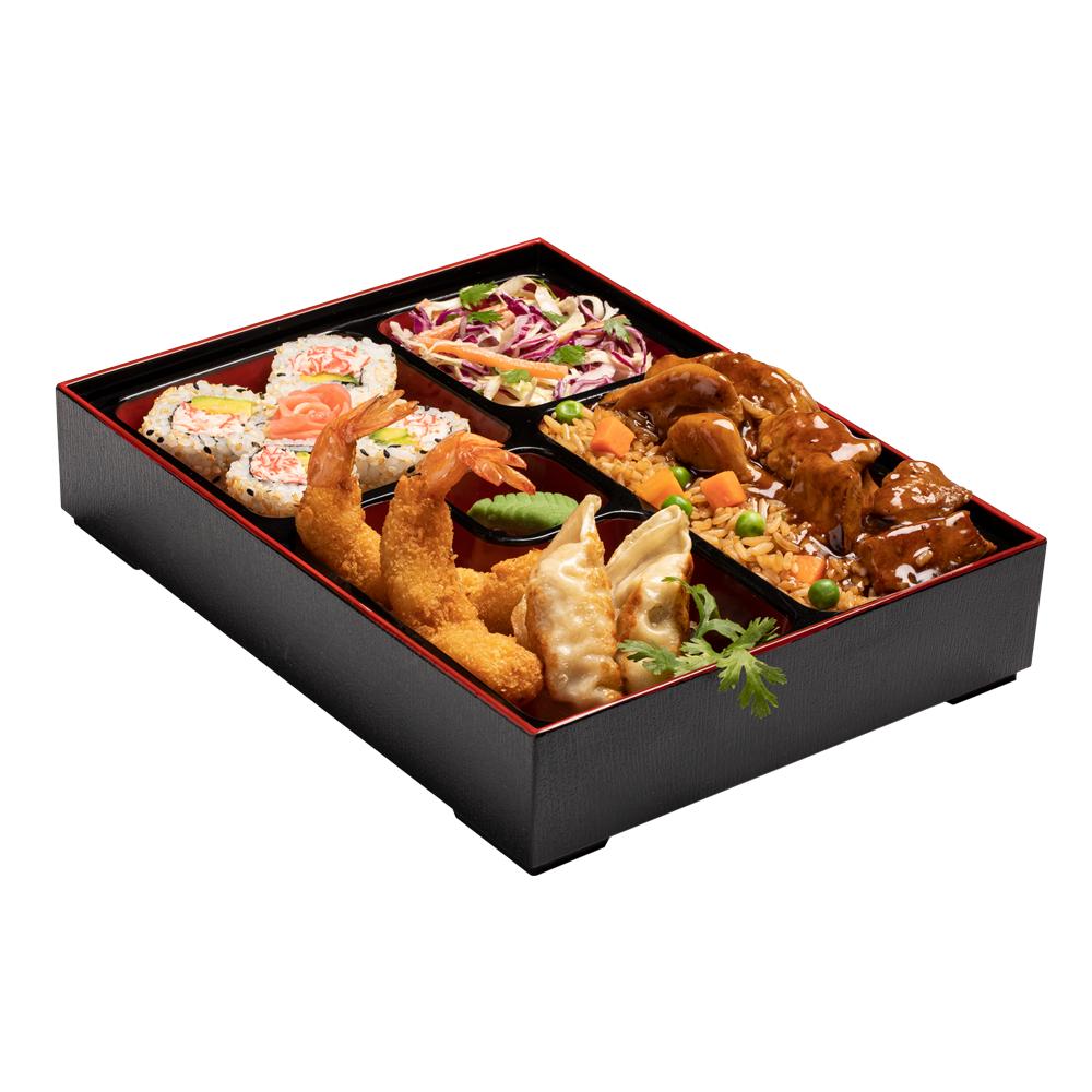 Bento Deluxe de Pollo Teriyaki