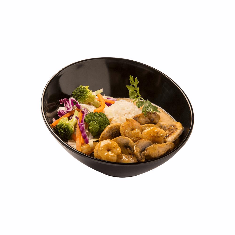 Pollo con Camarones Sarkurry