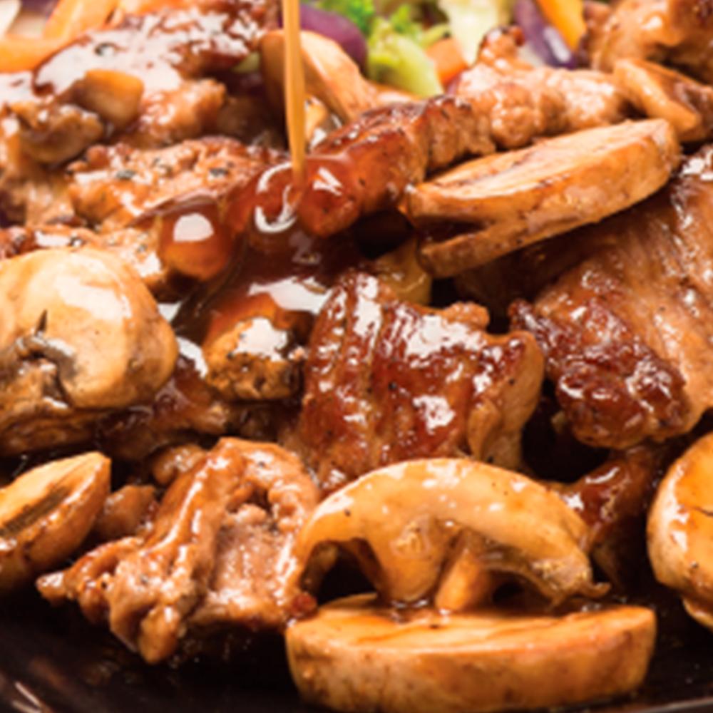 Porción de Carne Teriyaki