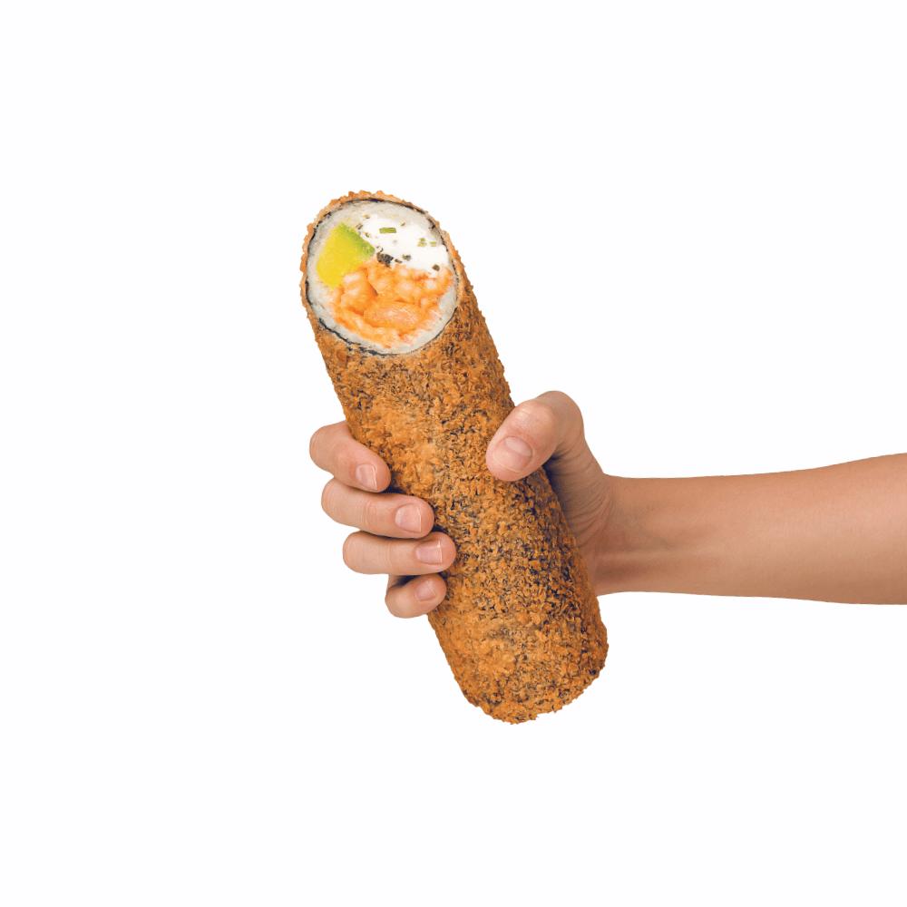 Sushi Burrito Volcano